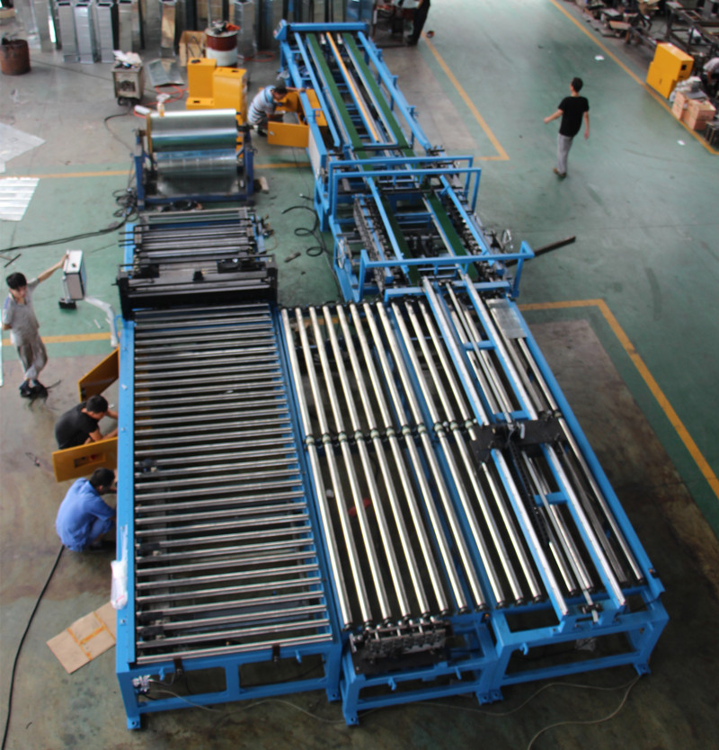 Auto Duct manufacture line 6 , duct make line u shape – Ma'anshan