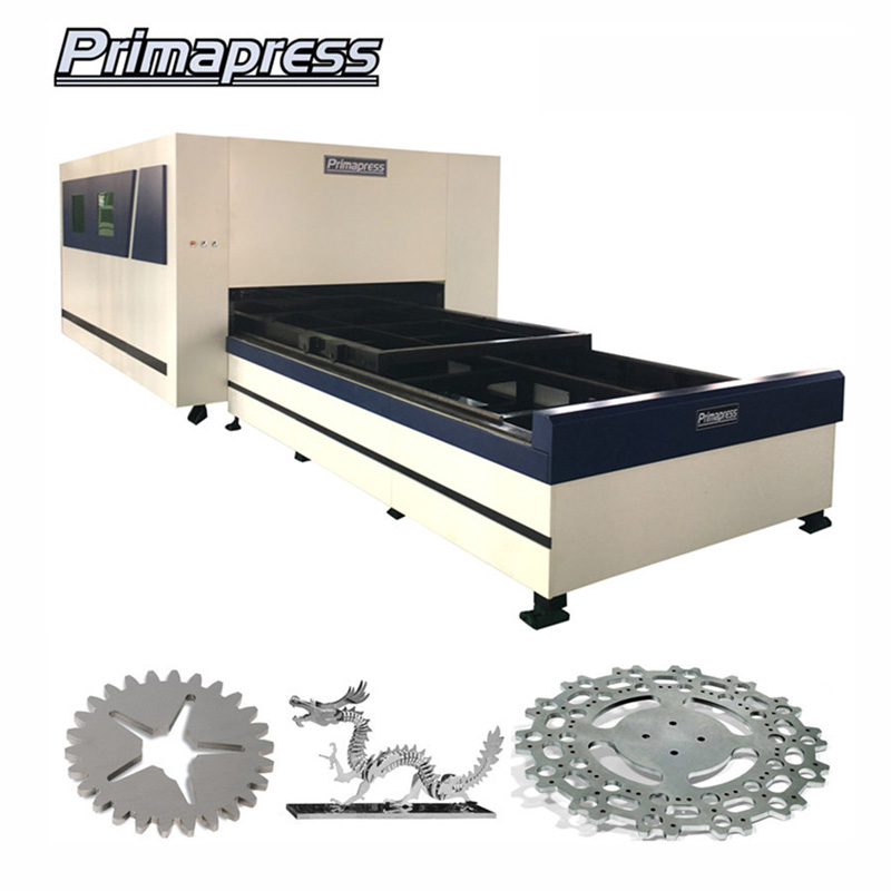 Cnc Fibre Laser Cutting Machines For Metal With Exchange