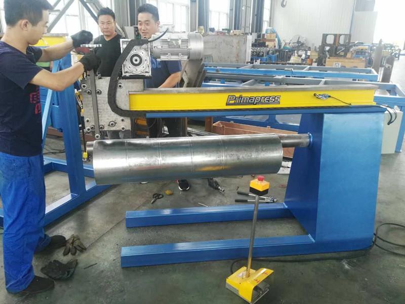 Round Duct Machine Ma Anshan Prima Cnc Machinery Co Ltd