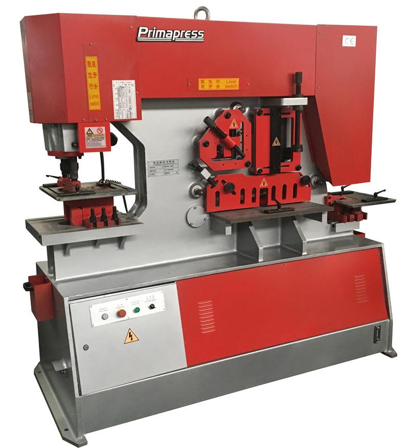 Sheet Metal Hydraulic Ironworker Iron Worker Machine Ma